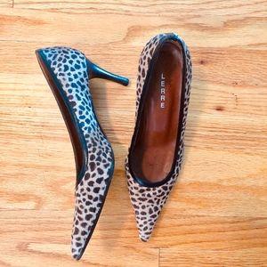 leopard Lerre pump